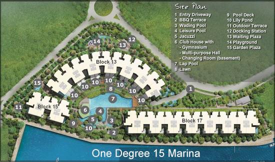 Marina Collectin Siteplan