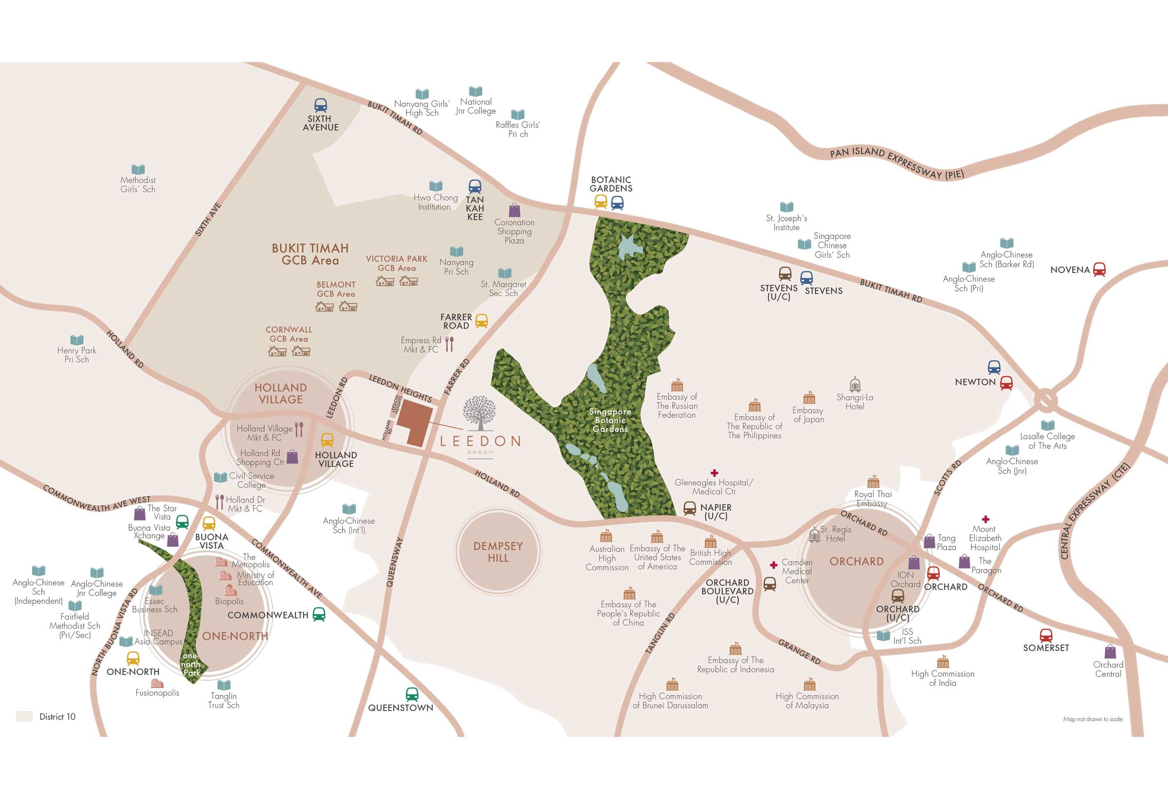 3 Orchard by the Park location map
