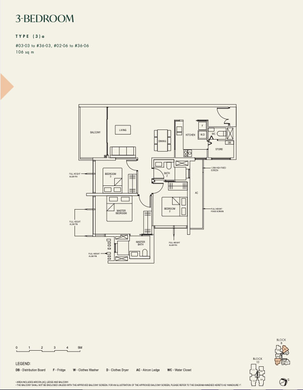 The Avenir 3 bedroom 3a by Jessica Siow