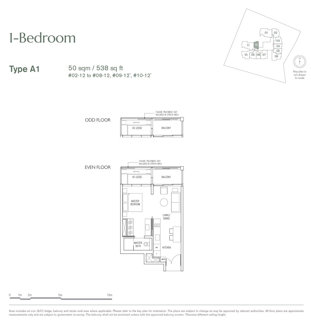 19 Nassim 1 bedroom type A1