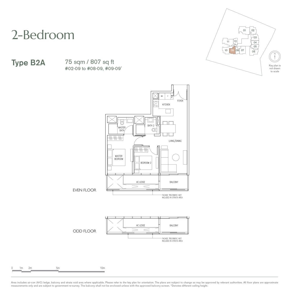 19 Nassim 2 bedroom type B2A