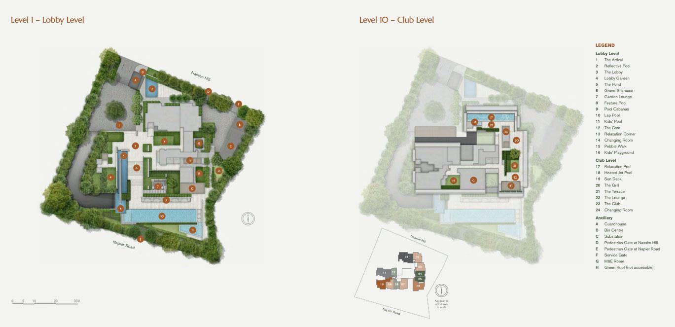 10 Nassim Site Plan