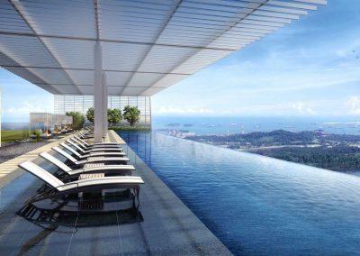 Wallich Residences Infinity Pool